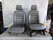 Innenausstattung Ledersitze Sitze Leder VW Touareg 7L6 grau elektrisch