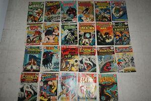 Lot of 23  Vintage DC COMICS 1970s Bronze Age SUPERMAN Demon  Strange Adventures