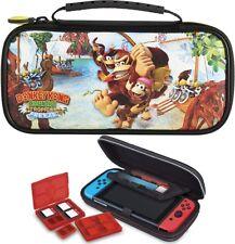 Nintendo SWITCH DONKEY KONG Travel Case Tasche + Zubehör Schutzhülle