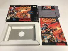 Doom Troopers (Super Nintendo SNES, 1995) CIB Complete