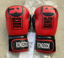 NEW Ringside Apex Boxing Gloves 16 Ounces Oz Red FREE Shipping
