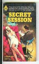 SECRET SESSION Hytes, rare Midwood 527 sleaze lesbian gga pulp vintage pb RADER