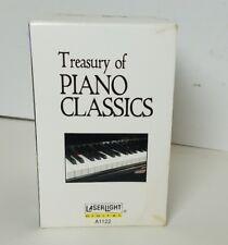 Treasury of Piano Classics 5 cassettes from Laserlight Digital box set BRAND NEW