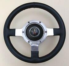 Classic 1960/70's  Astrali 11inch  Mini Cooper  Black Leather Steering Wheel