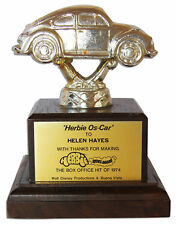From Helen Hayes Estate, Her 1974 Disney Herbie Trophy