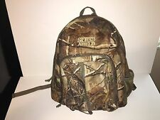 Sports Afield Backpack for Hunting and/or Fishing Polyester Camouflage Bag