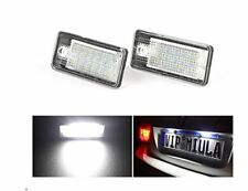 Audi A3 8P A4 S4 B6 B7 A6 4F A8 4E 4H Q7 4L LED License Number Plate Light Lamp