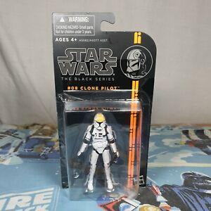 Clone Pilot #08 Star Wars The Black Series Orange Stripe Action Figure Hasbro