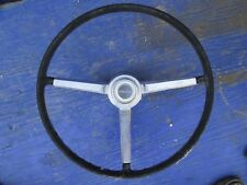 1966 CHEVY CHEVELLE  STEERING WHEEL AND HORN CAP  OEM