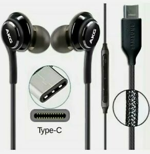 USB Type-C Replacement Headphone AKG Earphone For Samsung Galaxy S20 S21 Note 10