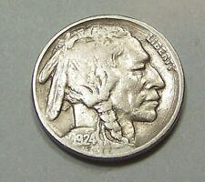 New Listing1924 P Buffalo Head Nickel *90405200