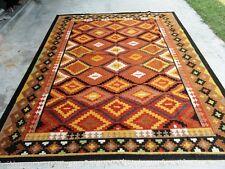 Hand Woven Wool Rug Turkish Kilim Dhurrie Afghan Oriental Area Rug 5x8 ft