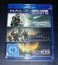 HALO TRIPLE FEATURE COLLECTOR´S BOX 3 BLU RAY SET SCHNELLER VERSAND NEU & OVP