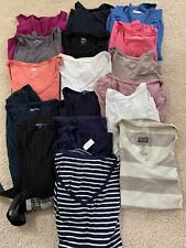 Maternity Clothing SHIRTS Lot 17 Pieces - Size Small GAP OLD NAVY (1 dress)