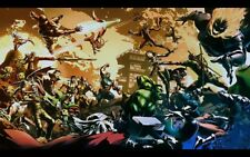 Marvel vs Capcom 24 x 14 Custom Yugioh Playmat Mtg Play Mat Pokemon