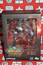 WORLD OF WARCRAFT ACTION FIGURES PREMIUM SERIES 3 TROLL HUNTER TAZ DINGO NEW