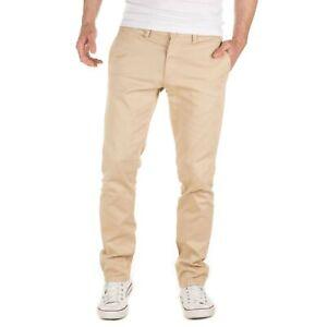 Yazubi Chinohose Herren Slim Fit Designer Chino Hose Strech Merlin by YZB Jeans