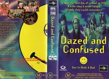 DAZED AND CONFUSED - VHS - PAL - NEW - Never played! - Original Oz release