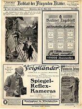 Voigtlander CAMERAS spa town of Bad Reichenhall Ludwig Hupfeld Leipzig Phonola... 1907