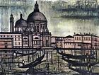 Framed canvas art print giclee  Venise, venice Santa Maria della Salute