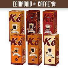 100 Cialde KE Caffe Molinari Aromatizzato Ginseng,Cacao,Sambuca,Amaretto e altri
