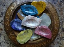Assorted Pocket Worry Stone (1) Gemstone Wiccan Pagan Metaphysical