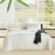 Alastairs Summer Light Bamboo Quilt, Size King - White