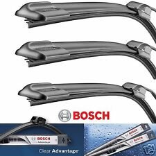 3 Bosch Clear Advantage Wiper Blade Size 21 /20/ 16 Front Left - Right and Rear