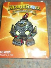 Collectible  Blizzard Hearthstone 2018 Dr BoomBoom  Bot Blizzcon Gencon WOW Pin