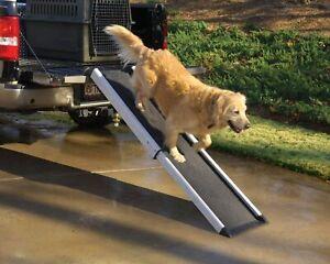 42-70 inch Heavy Duty Extendable Dog Ramp Adjustable Pet Friendly Non-Slip