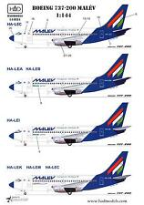 Hungarian Aero Decals 1/144 BOEING 737-200 Malev Airlines