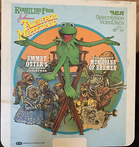Tales from Muppetland Capacitance Electronic Disc RCA SelectaVision Video Disc