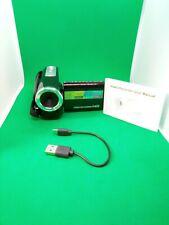 👀 Video Camera Camcorder Digital Camera Recorder 16X Digital Zoom color black