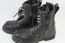 BILT Commando Women's Black Motorcycle Boots Size 7 US