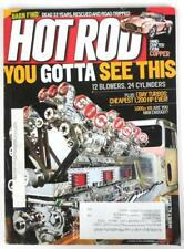 Hot Rod Magazine September 2011 12 Blowers 24 Cylinder Truck Engine Copper Cobra