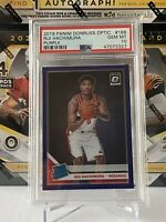 2019-20 Rui Hachimura Donruss Optic Purple Holo Rookie #188 PSA 10
