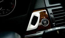 2008-2014 For BMW X6 E71 Dashboard Console Key Hole Cover Trim Decor 1 Piece