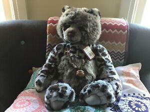 Charlie Bears Zebedee Retired 2014 Plush Collection Rare Beautiful Big Bear