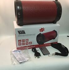 Portable Bluetooth Speaker w/Remote - Top Tech - Red