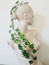 Poison Ivy Costume Hair Clip Headpiece Batman Halloween Nymph Christmas