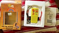 IN BOX Vintage Rainbow Brite Radio Walkman Ertl Doll 1983 80s RARE