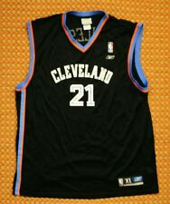 Cleveland Cavaliers NBA jersey by Reebok, Mens XL, #21 Miles