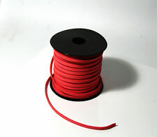 Red New 5mm Sawing Leather DIY Making Thread Cord Jewellery DIY 2m