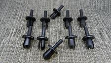 10x Land/Range Defender Rivet Splash arch de roue doublure TRIM CLIPS 8-9 mm