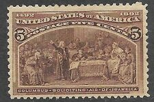 U.S. Unused 234 Mh Single as shown (R5999) 00004000
