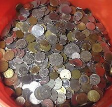 5 lbs of mixed World / FOREIGN COINS, bulk lots by the pound! Many Countries!