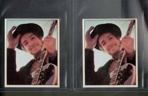 2 items  # 203  BOB  DYLAN     1972 PANINI cantanti