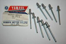 nos Yamaha snowmobile frame rivets ex340 ex440 gpx  srx440 radiator
