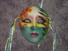 CLAY ART CERAMIC MASK.....CARIBBEAN SUNSET....EXTREMELY RARE!