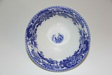 """Spode Blue Room Collection """"Girl at Well"""" 5 3/8"""" Blue White Bowl England"""